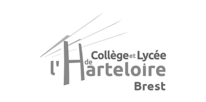 Logo du lycee de l'Harteloire