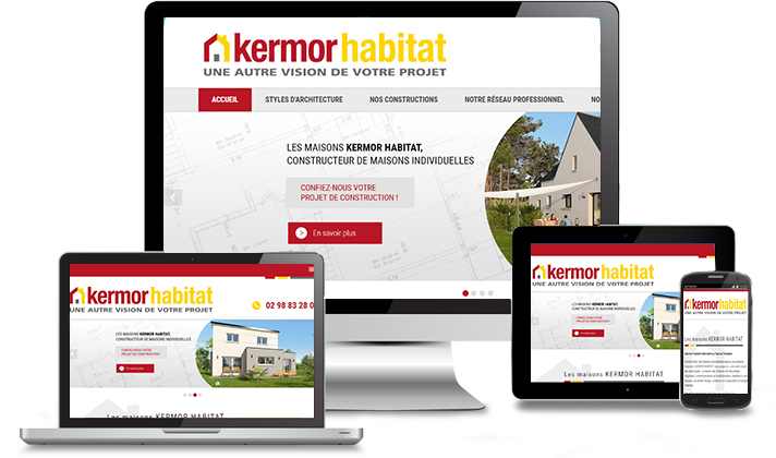 Site vitrine Kermor Habitat
